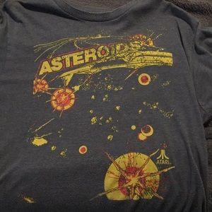 Classic Atari Asteroids tee shirt